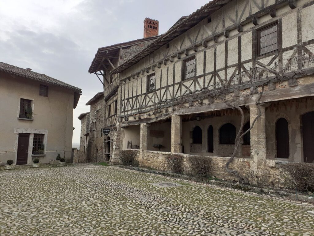 Cité médiévale de Pérouges (Ain)